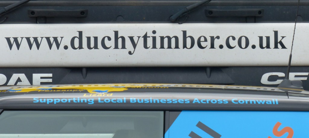 MINI tour of Duchy Timber and Lostwithiel