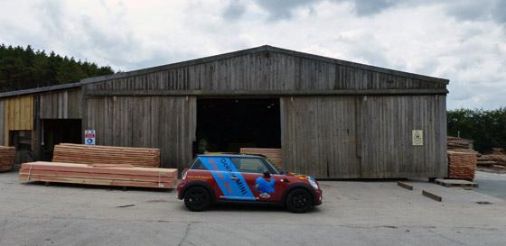 Duchy Timber workshops.
