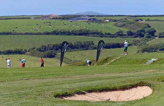 Ocean BMW Charity Golf Day at Mullion Golf Club.