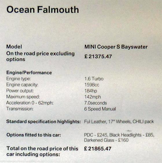 Ocean MINI Falmouth
