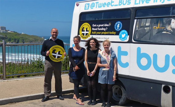 Tweet Bus visited Orbiss LTD