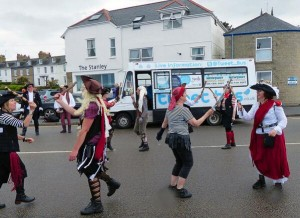 Pirate World record attempt Penzance